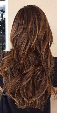 Long brown waves